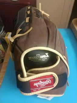 "Rawlings 12 1/2"" Leather Youth Baseball Glove #RBG36BC"