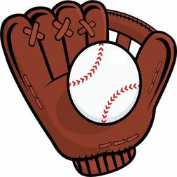30 Custom Baseball Glove & Ball Personalized Address Labels