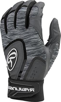 Rawlings 5150 Baseball Batting Gloves, Adult Medium, Black