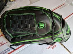 "Wilson 6-4-3 14"" Slowpitch Softball Baseball Glove RHT A12RS"
