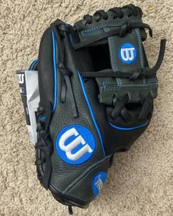 """Wilson A1000 Series 11.25"""" Infield Baseball Glove, Right Han"""