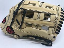 """Wilson A2000 1799 Outfield Baseball Glove Blonde 12.75"""" Left"""