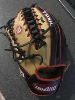 a2000 baseball glove 12.75 OF RHT not used, not broken in
