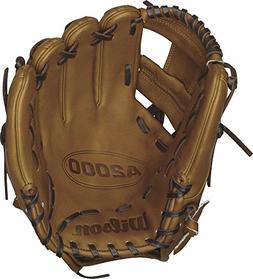 Wilson A2000 DP Infield Baseball Glove, Saddle Tan, Right Ha
