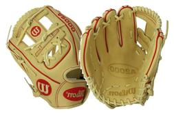 "Wilson A2000 DP15 11.5""  Baseball Glove: FREE name engraving"