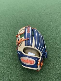 "Wilson A2000 Jose Altuve 11.5"" Baseball Glove Game Model JA2"