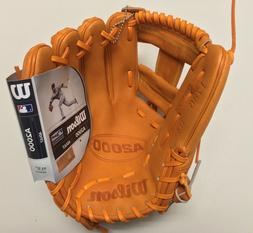 "WILSON A2000 ORANGE TAN 1786 PRO STOCK 11.5"" Baseball Glov"