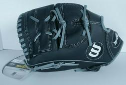 Wilson A360 Baseball Glove 12 Inch Black Gray Leather A03RB1