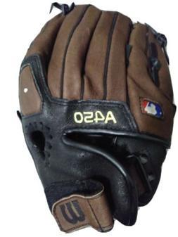 "Wilson A450 10.75"" Youth Baseball Glove WTA04RB191075"