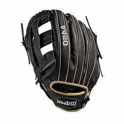 """Wilson A450 Baseball Glove Series Right Hand Throw 12"""" Black"""