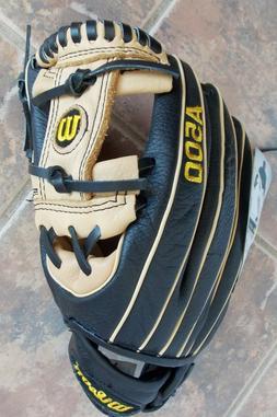 Wilson A500 All-Positions Baseball Glove, 11.5