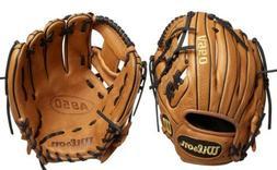 "Wilson A950 Adult Leather Baseball Glove New 11.5"" Broken"