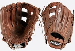 """Wilson A950 Adult Leather Baseball Glove New 13"""" Broken In"""