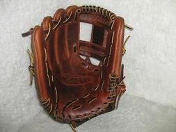 Wu baseball glove antique tumbled steer hide leather 11.75""