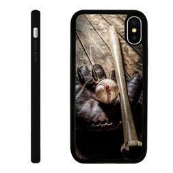 baseball glove silicone phone case skin cover