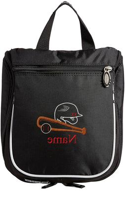 Baseball Toiletry Bag, Personalized Men's Shaving Kit, Hangi
