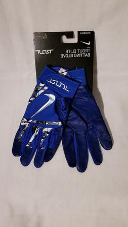 BRAND NEW Nike Trout Elite Adult Baseball Batting Gloves Siz