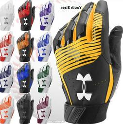 Under Armour Clean Up Baseball Softball Batting Gloves Youth
