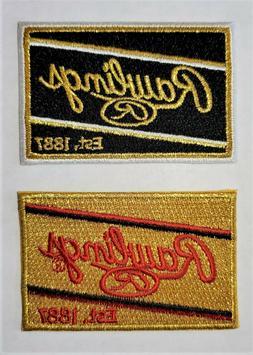 embroidered baseball softball glove patch 2 7