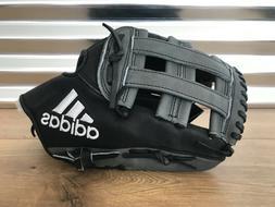"Adidas EQT 1275 H Pro Series Baseball Glove 12.75""  Black Gr"