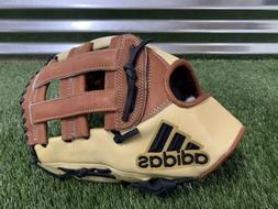 "Adidas EQT 1275 H Web Pro Series Baseball Glove 12.75"" Tan B"