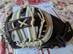 "Mizuno Franchise 12.5"" First Base Baseball Glove RHT  GXF90B"