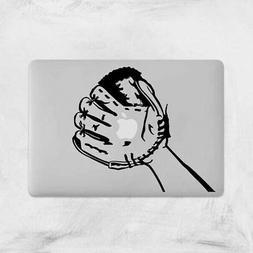 Funny Baseball Glove Decal for Macbook Pro Sticker Vinyl Lap
