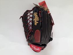 "Rawlings Gamer Baseball Glove TRAP-EZE GR5G8 12.5"" Black Bro"