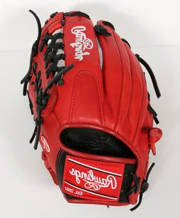 "Rawlings GG Elite Series 11.5"" Baseball Glove - Red"