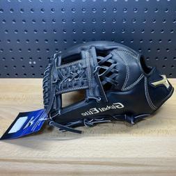 "Mizuno Global Elite VOP Baseball Glove Black 11.75"" GGE52VBK"