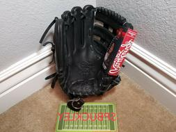 "RAWLINGS HOH HEART OF THE HIDE 11.5"" INFIELD BASEBALL GLOVE,"