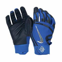 Nike HUARACHE Elite Baseball Batting Gloves GB0448-408 Dodge