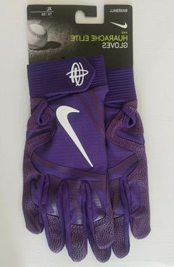 Nike Huarache Elite Baseball Batting Gloves PGB642-552 Purpl