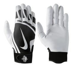 Nike Hurache Edge Youth Size Medium Batting Gloves, Baseball