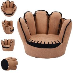 Kids Chair Five Fingers Baseball Glove Shaped Sofa Armchair