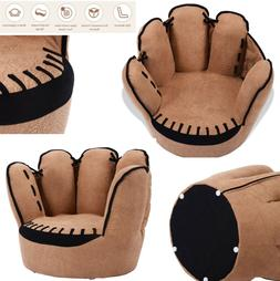 Costway Kids Sofa Five Finger Armrest Chair Couch Children L