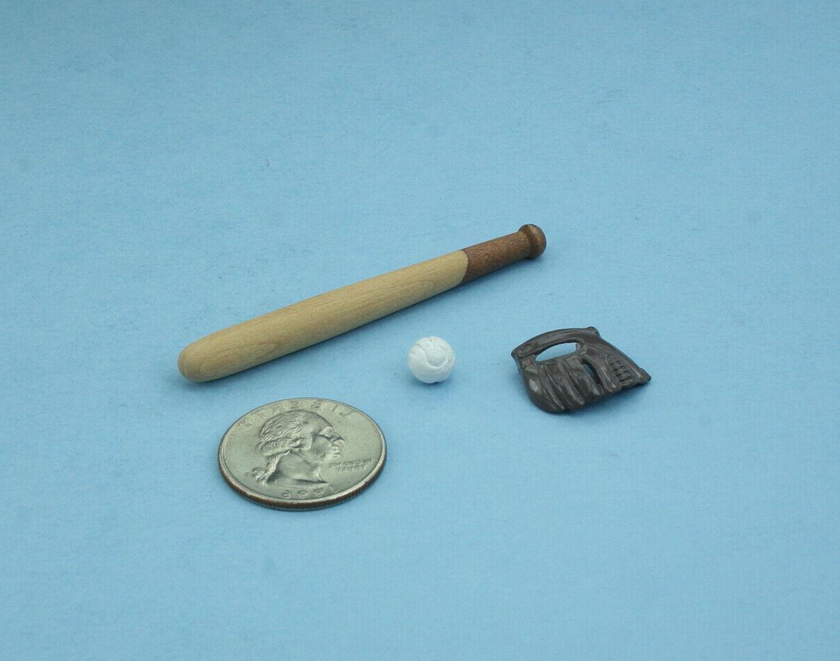 1/12 Scale Baseball Ball Set #XV61004C