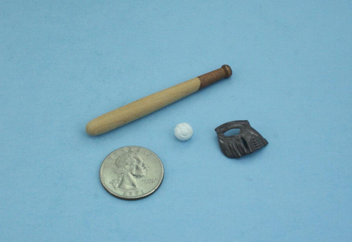1 12 scale dollhouse miniature baseball bat