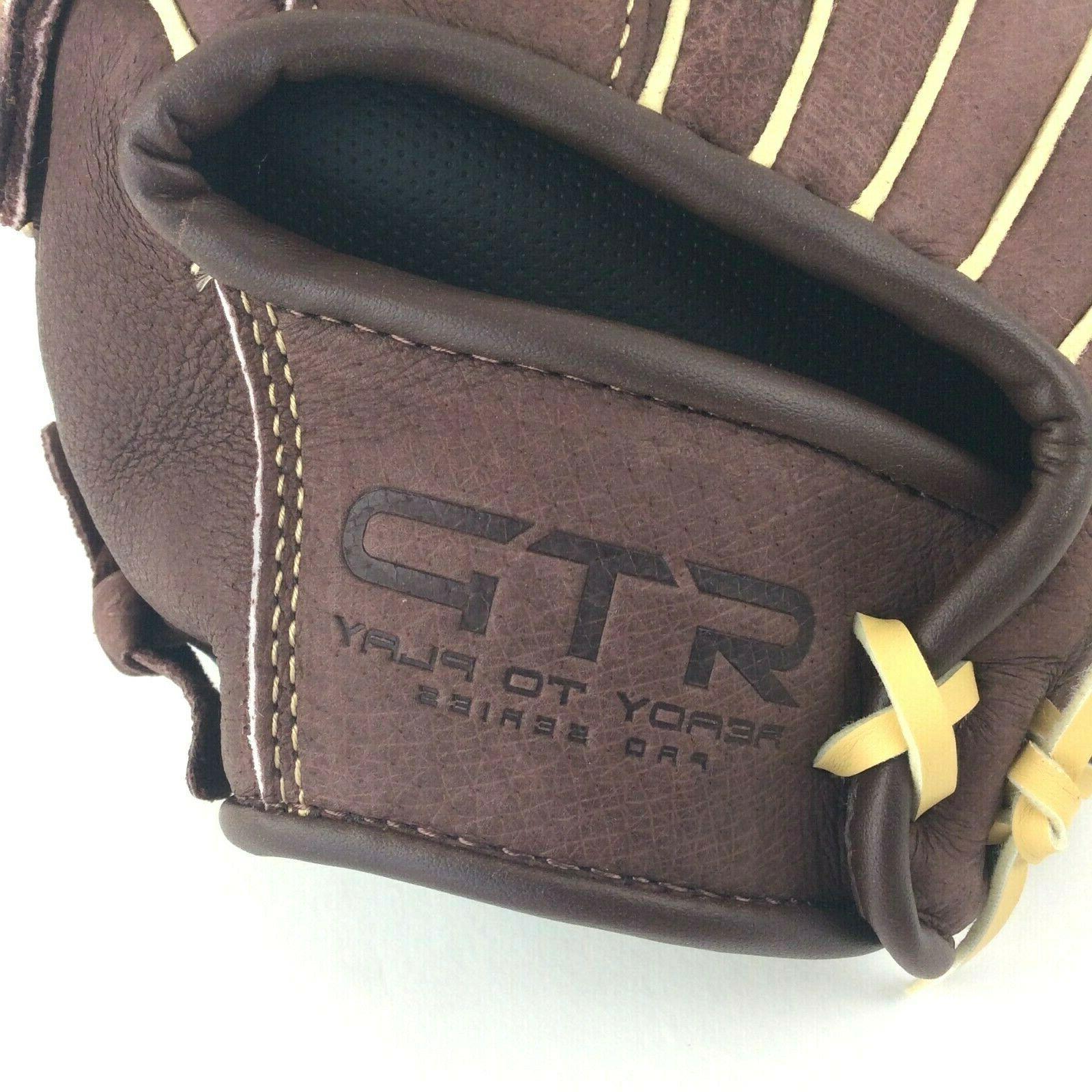 FRANKLIN Leather Baseball Hand Brown