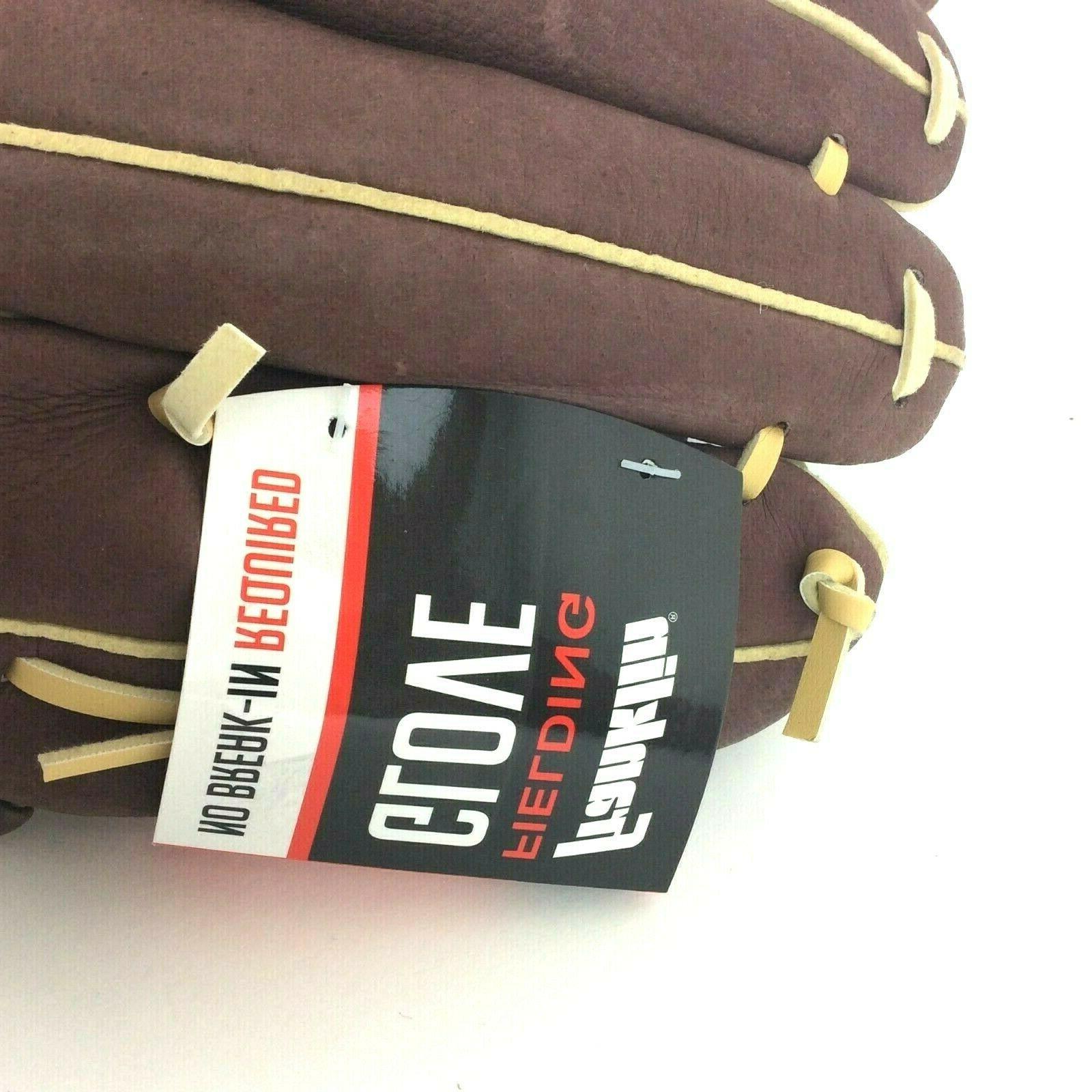 "FRANKLIN 12"" Leather Baseball Glove, Hand Thrower,"