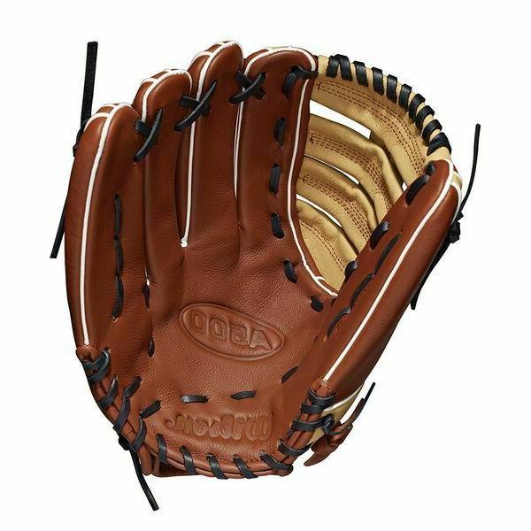 Wilson A500 Baseball Glove - Throw Leather