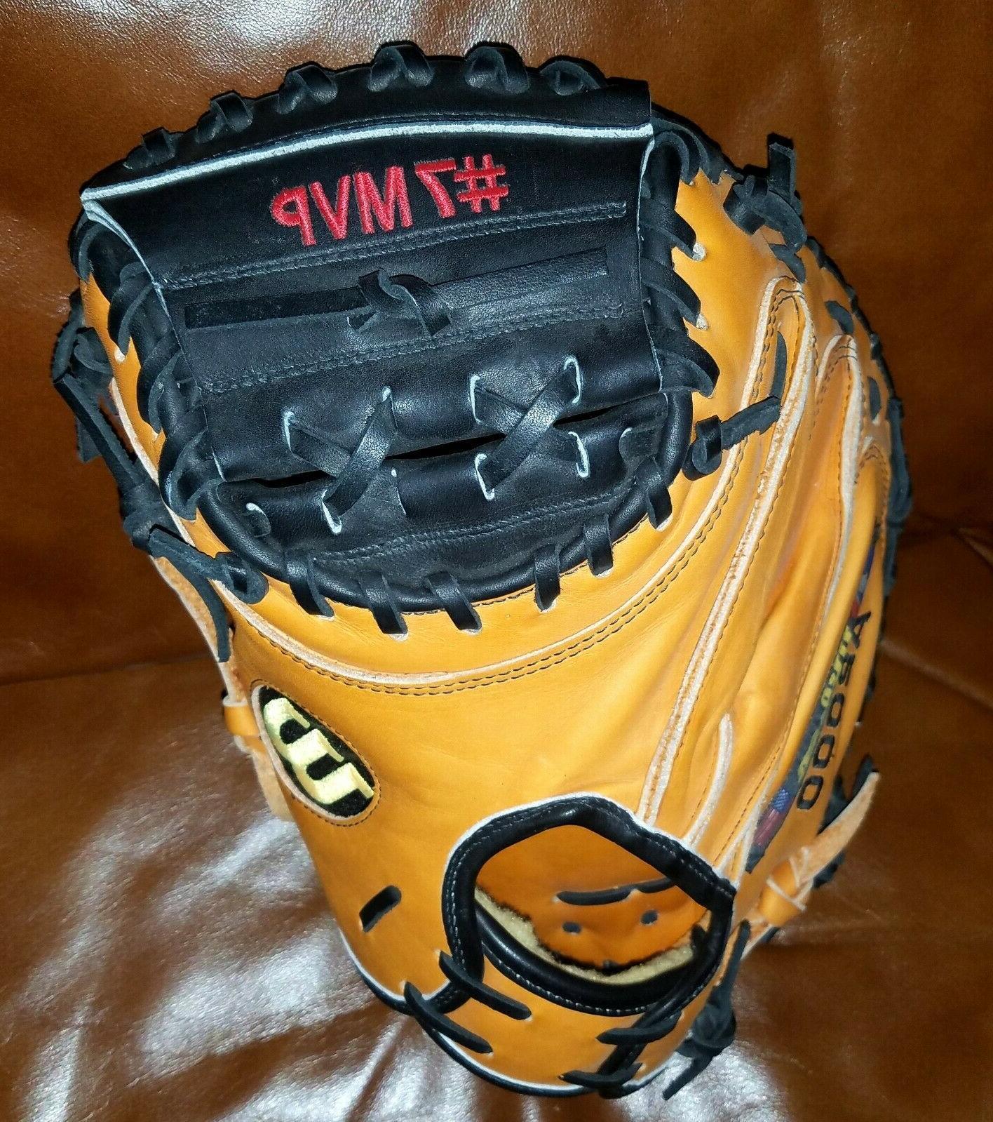 Wilson 1791 PUDGE Ivan Rodriguez MVP embroidered baseball glove