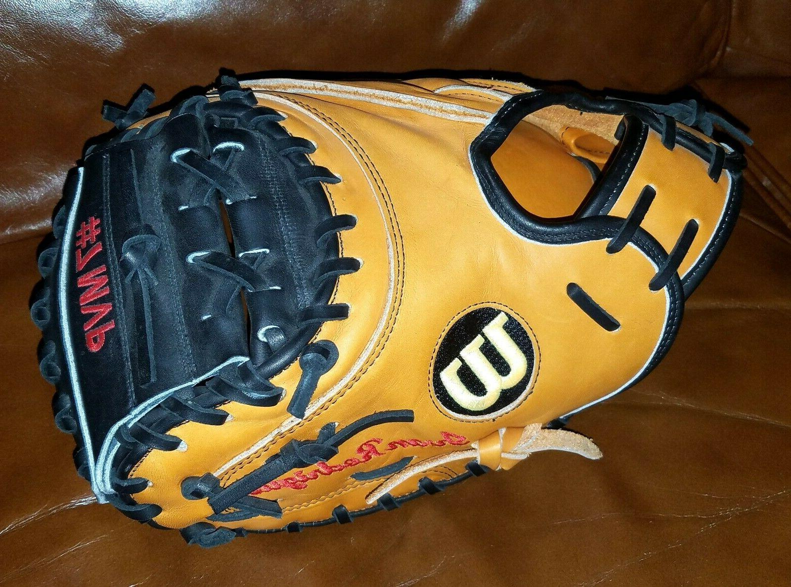 Wilson A2000 PUDGE Ivan Rodriguez #7 MVP embroidered baseball glove