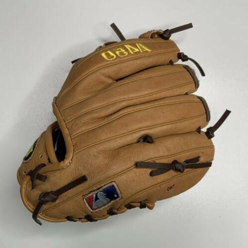 Wilson A450 Glove 3/4 RHT Righty - to Brown