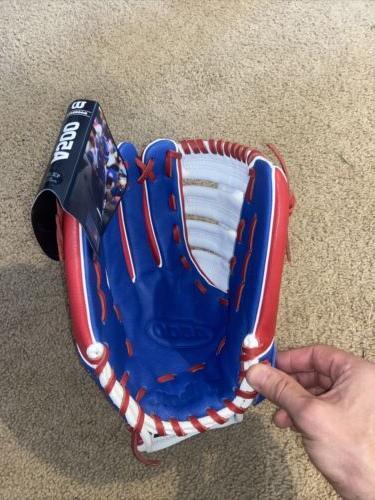 ⚾️ Baseball Glove RHT MLB Red Blue