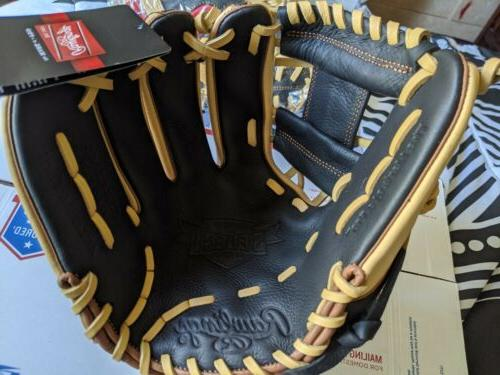 """Rawlings Adult 11.5"""" Glove SS314-2BCB Leather"""