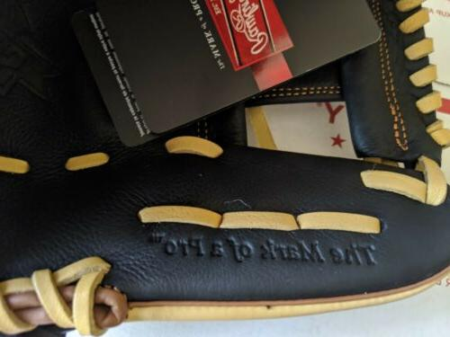 """Rawlings Adult Select Exclusive 11.5"""" Baseball SS314-2BCB Leather"""