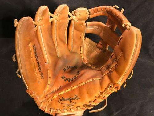 baseball glove 13 inch leather super scooper