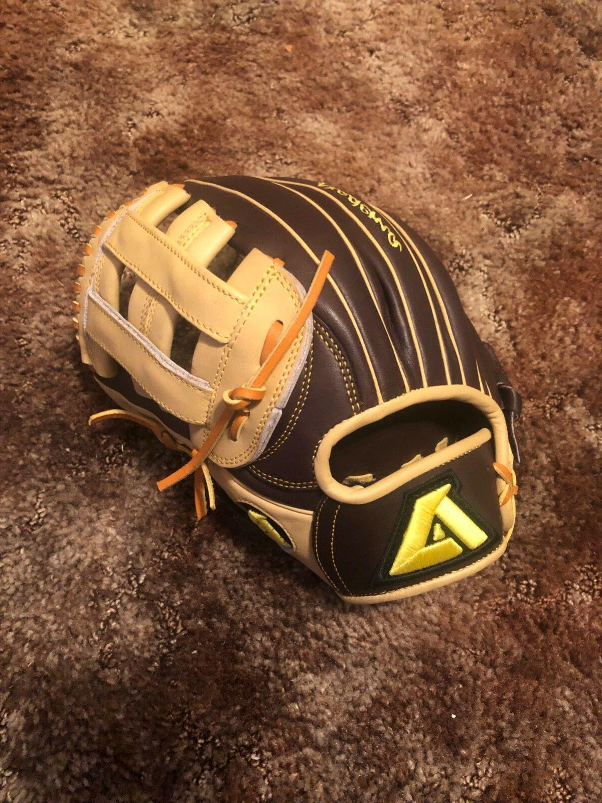 brand new baseball gloves used one time