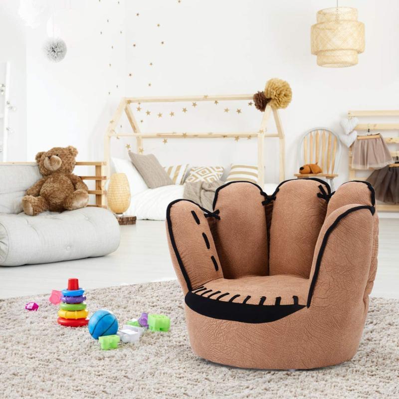 Costzon Children's Glove Chair Sturdy Wood